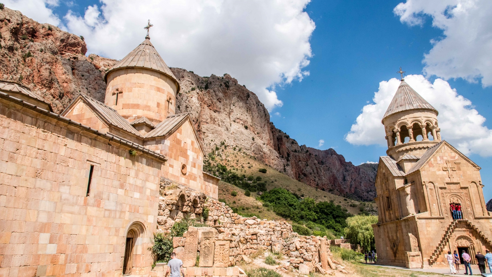 The project kicked off in 2013 at Noravank monastery