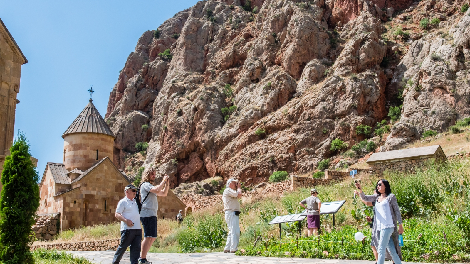 Noravank monastery complex is one of foreign tourists' favorite destinations