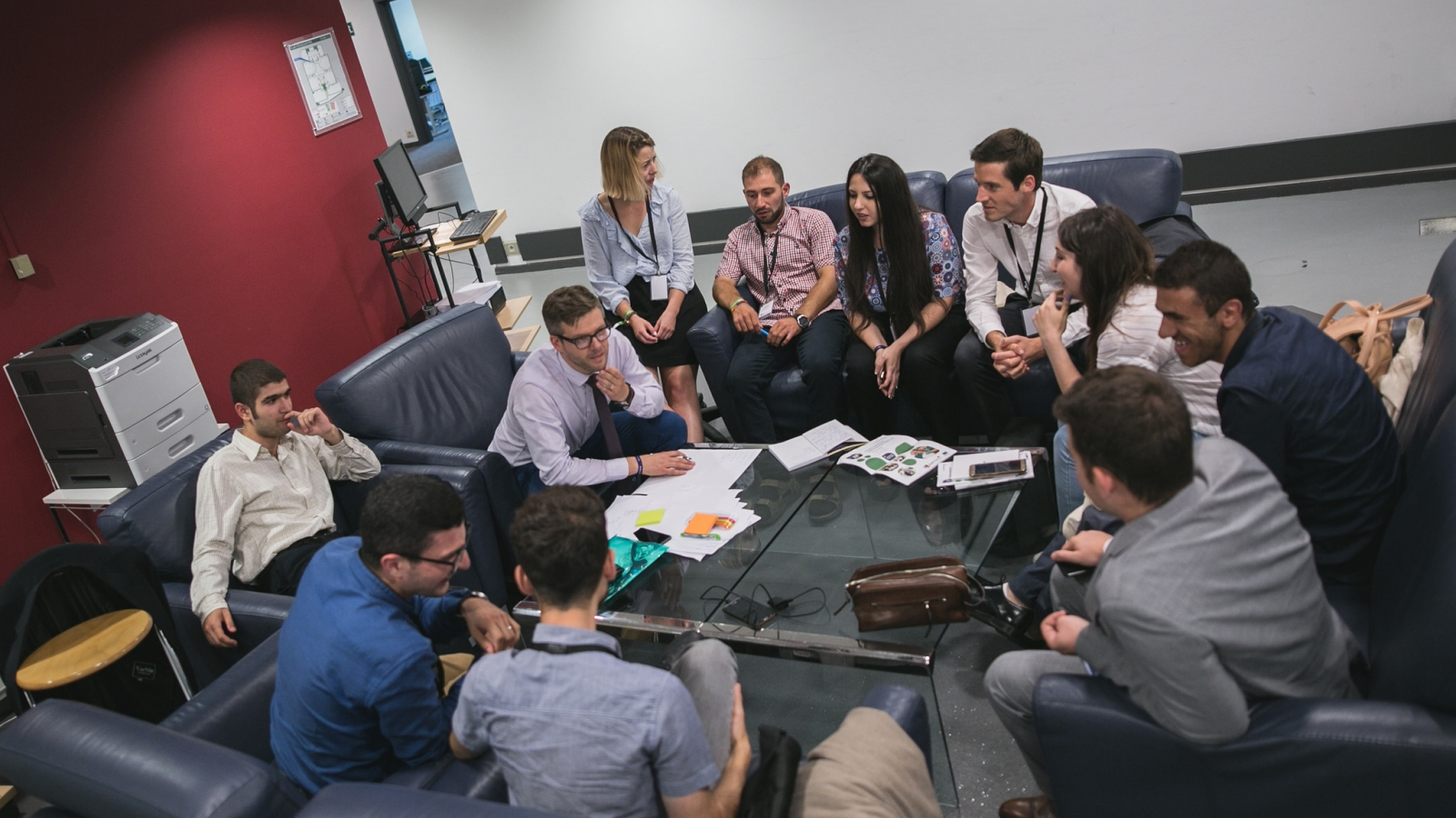 The YEAs participated in workshops to discuss future of their initiative