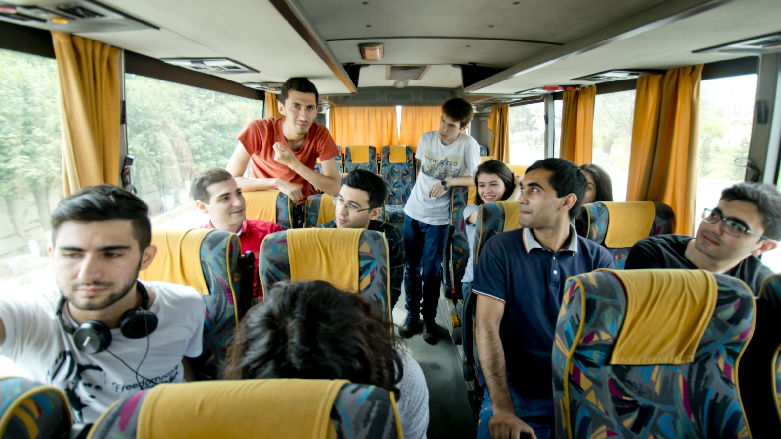 The second edition of the 'EuroSchool' took place in  in Qalaalti, a mountainous resort area of Azerbaijan