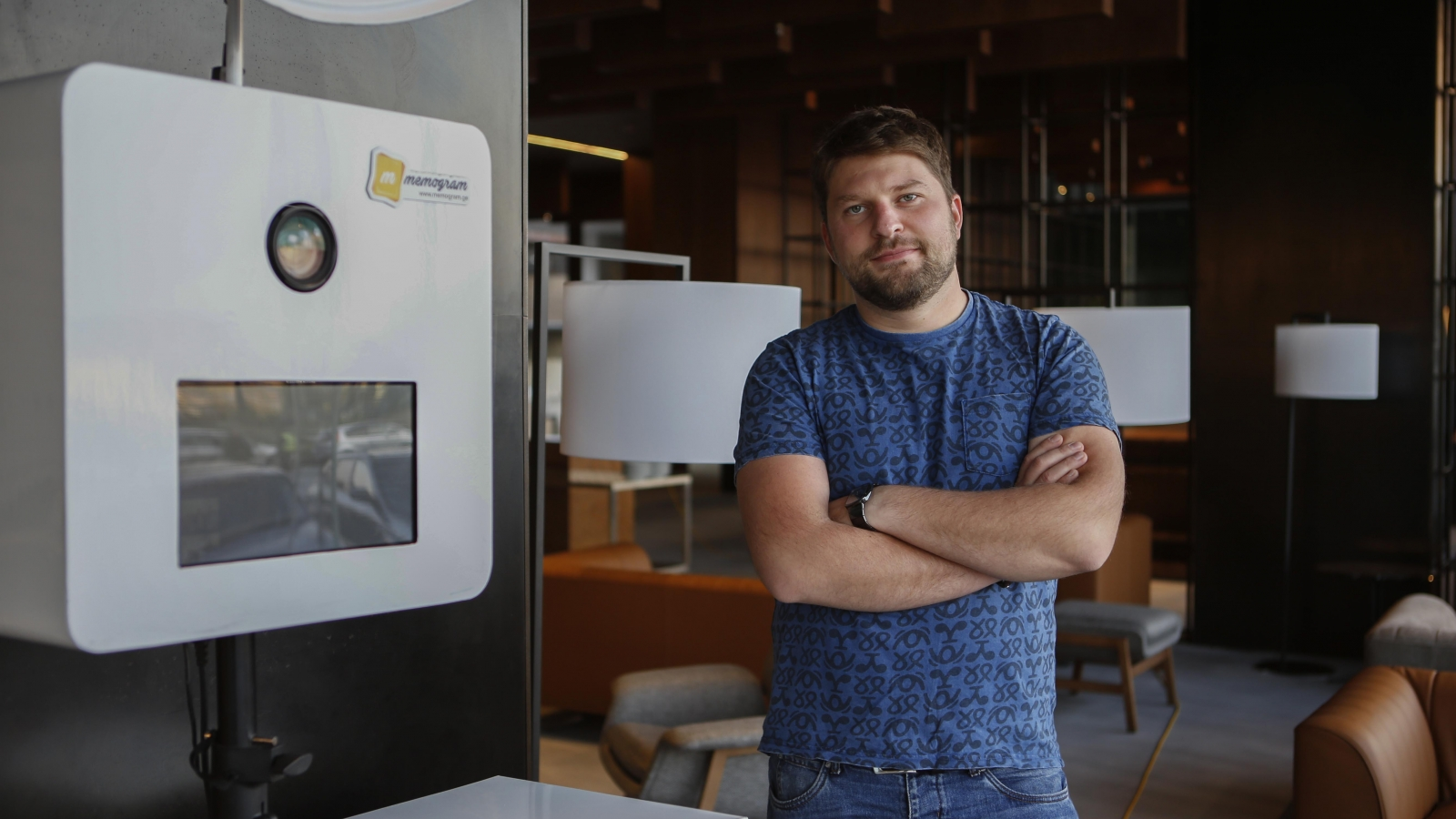 Gabriel Meliva is the founder of 'Memogram' company