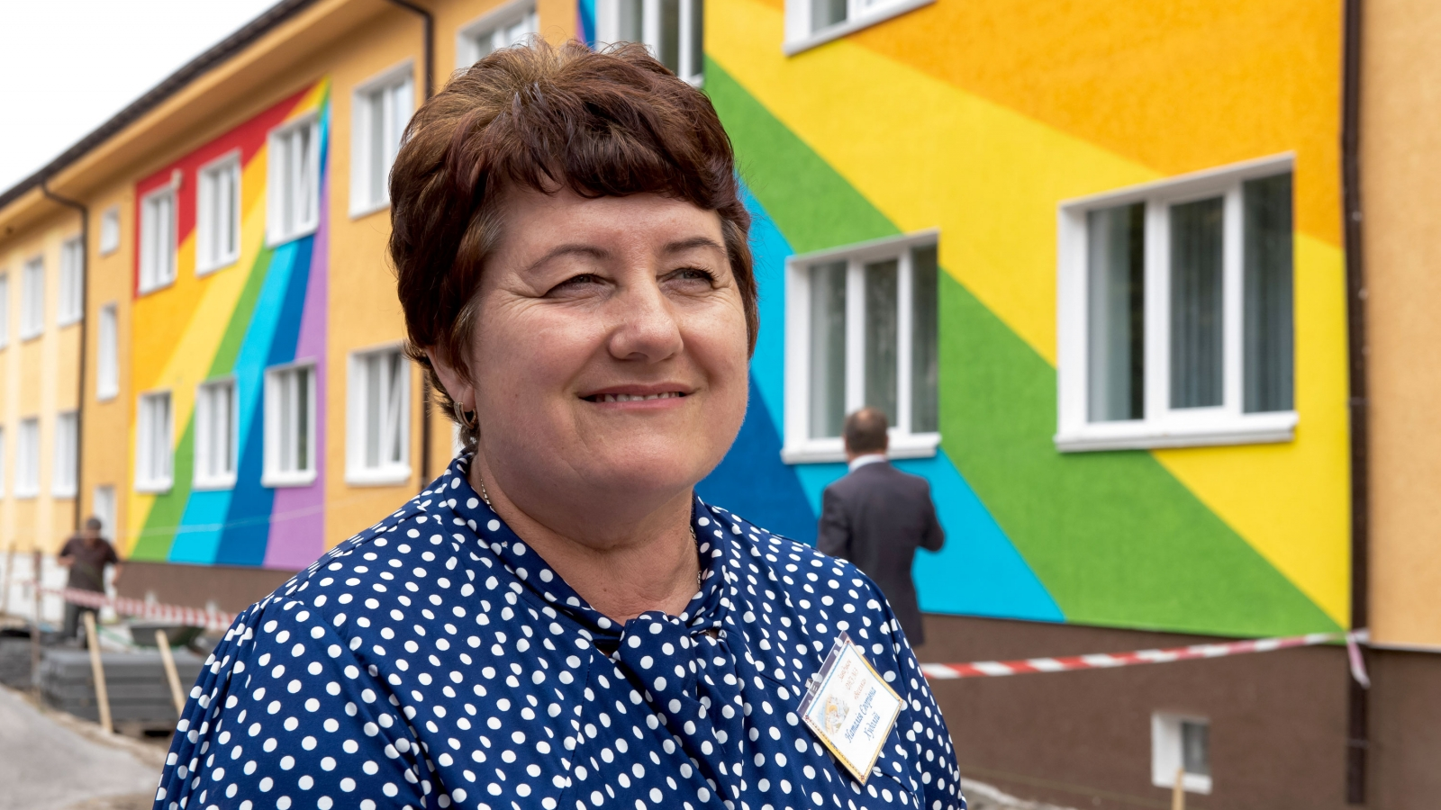 Nataliya Khudoliy, director of Kindergarten No. 3