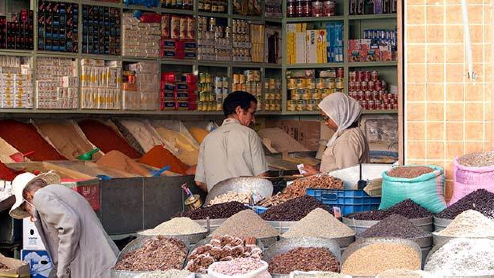 Small businesses are the backbone of the economy in Morocco