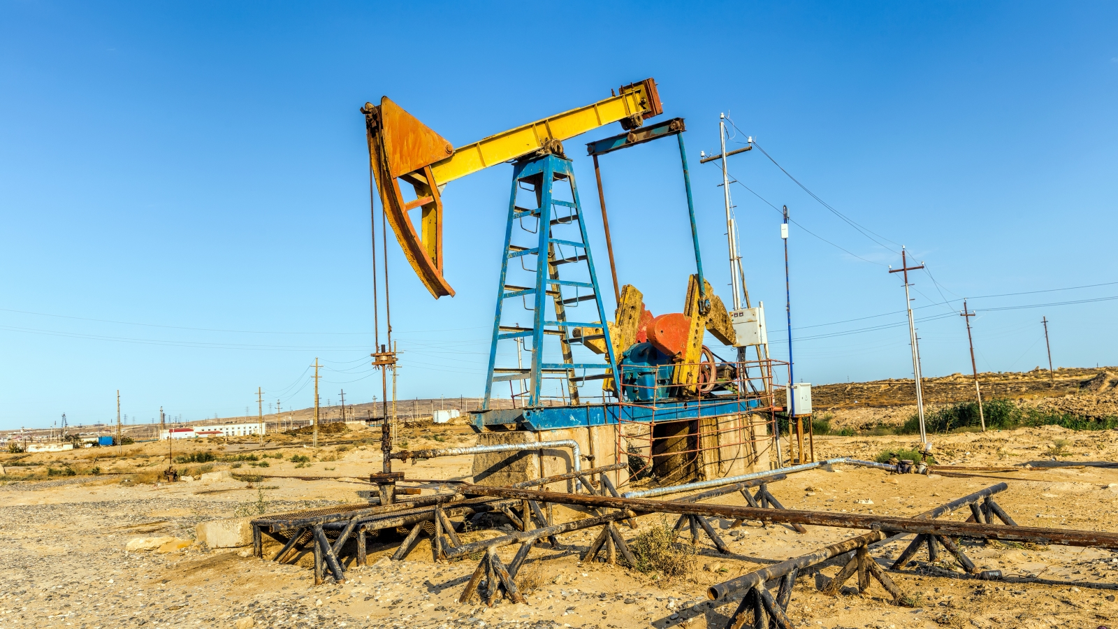 Oil pumps in Azerbaijan. Shutterstock photo