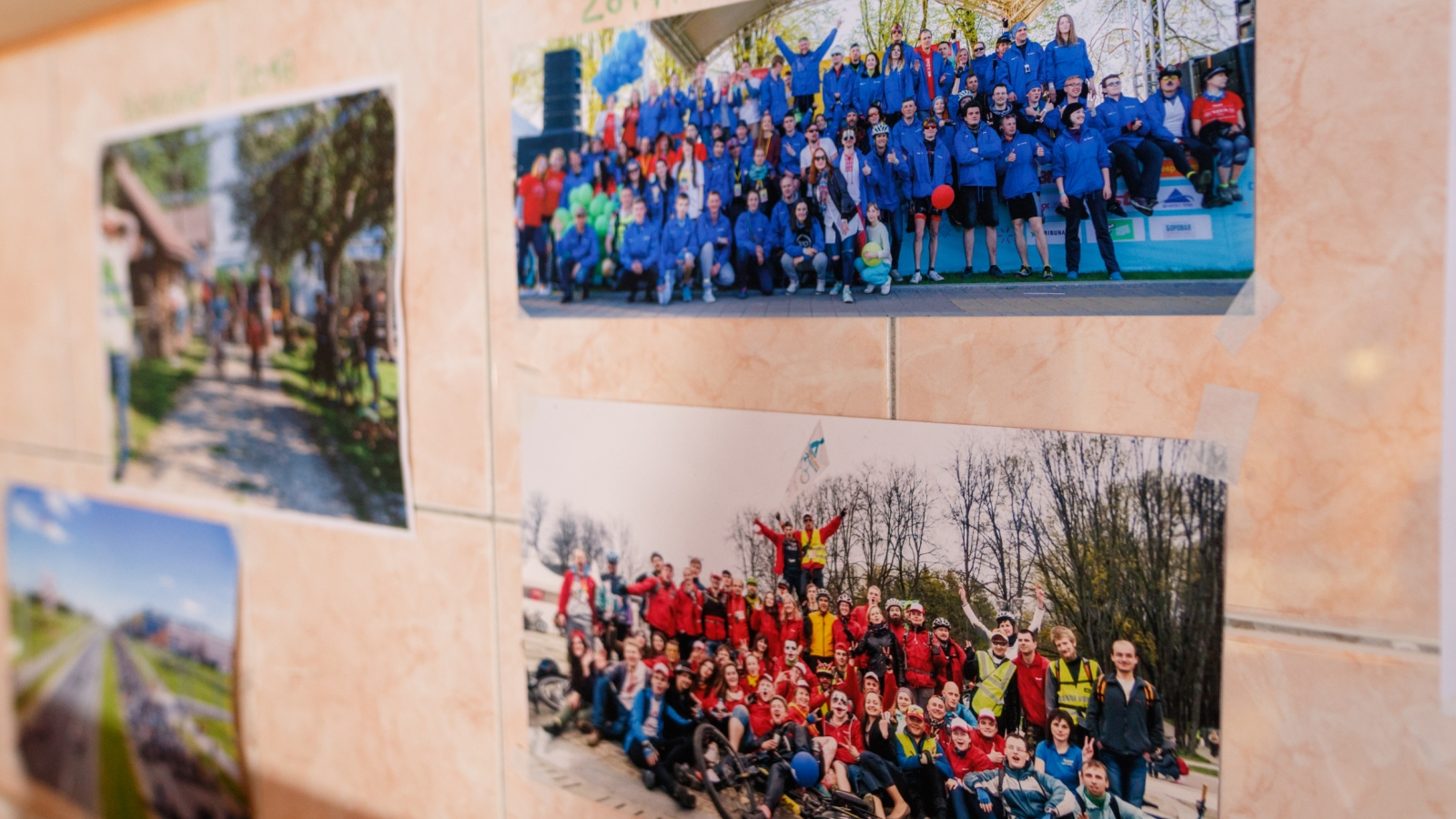 Inside the office of Minsk Cycling Community