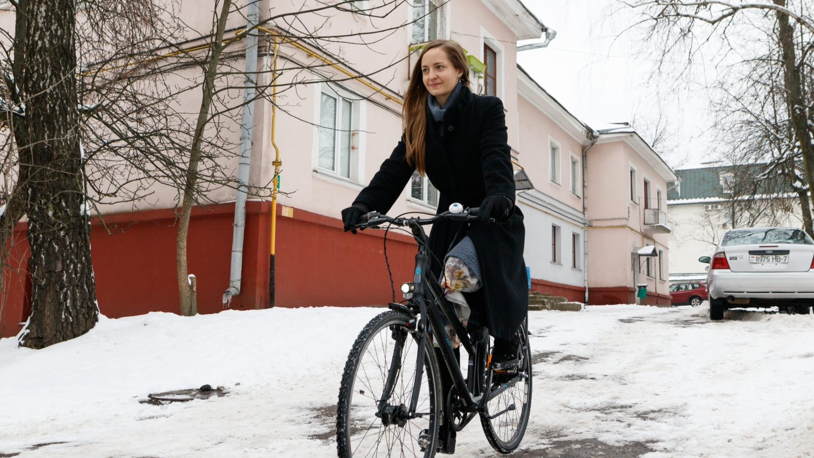 Anastasia Yanchevskaya manages the largest and most influential community of cyclists in the country