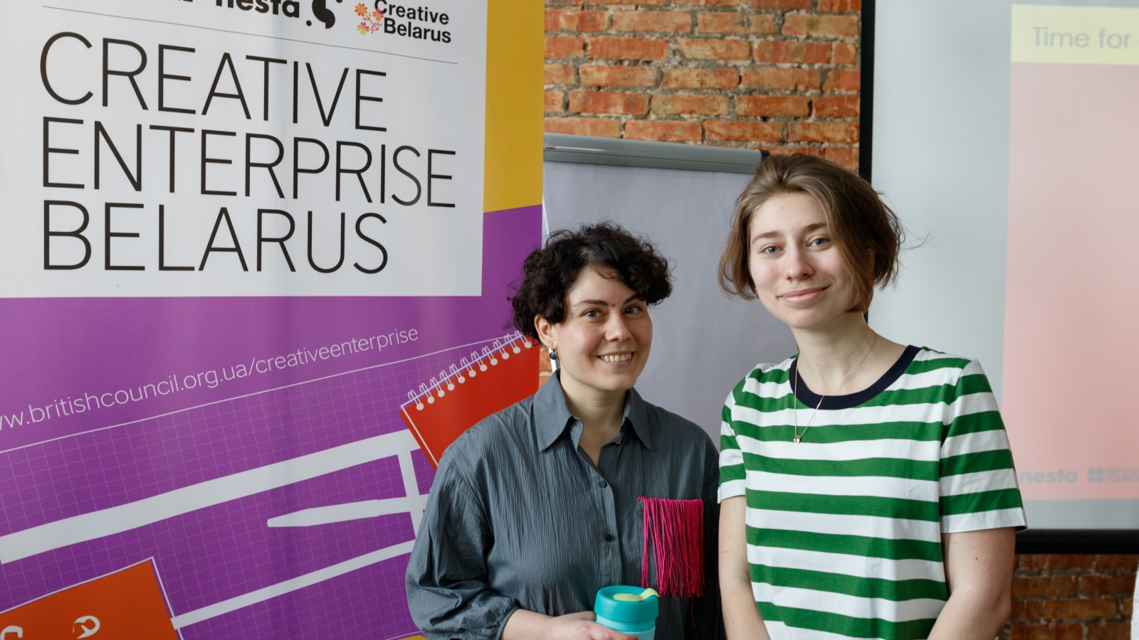 Margarita now works to establish an NGO Creative Belarus