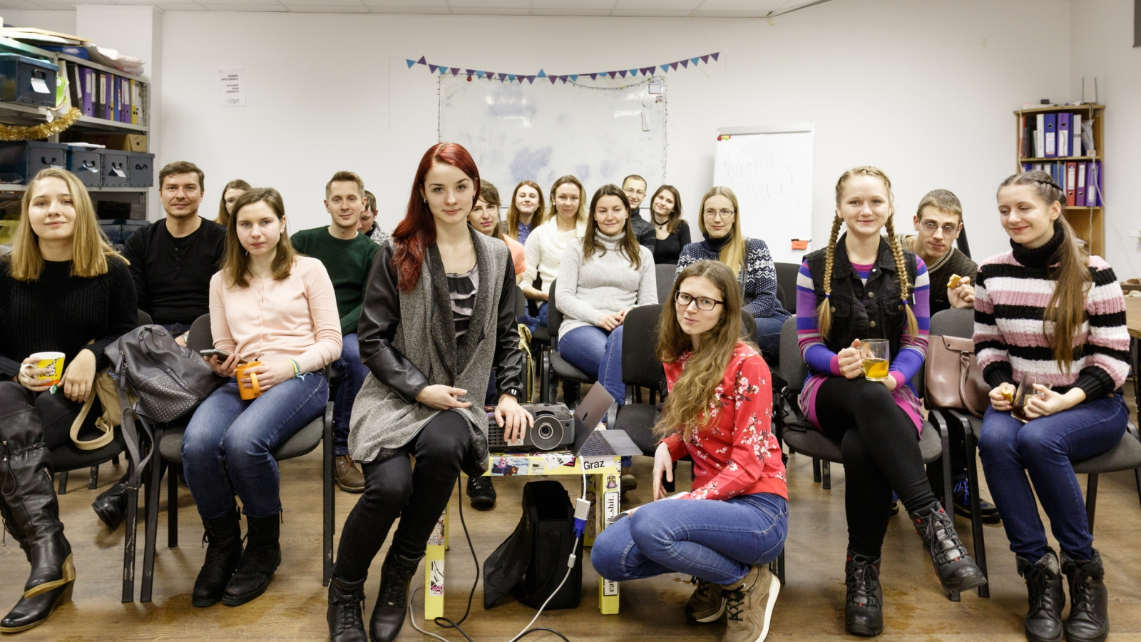 Evgeniya Dubeshhuk promotes critical thinking and active role in society among young people