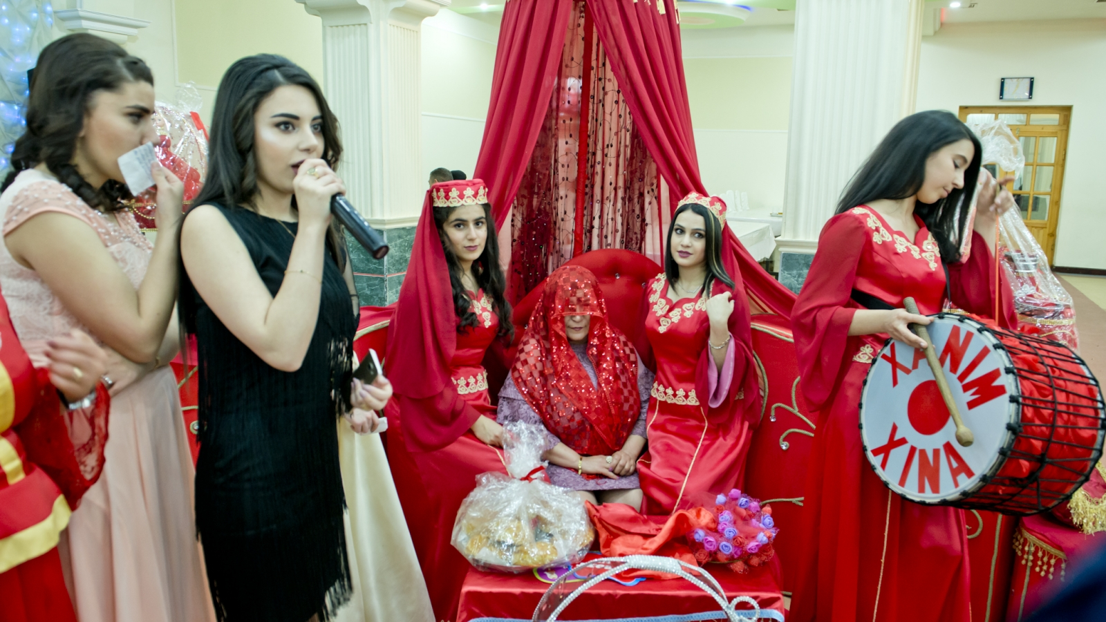 Organising pre-wedding 'Henna Night' ceremonies - is the business Rena Mekhraliyeva set up with the EU support