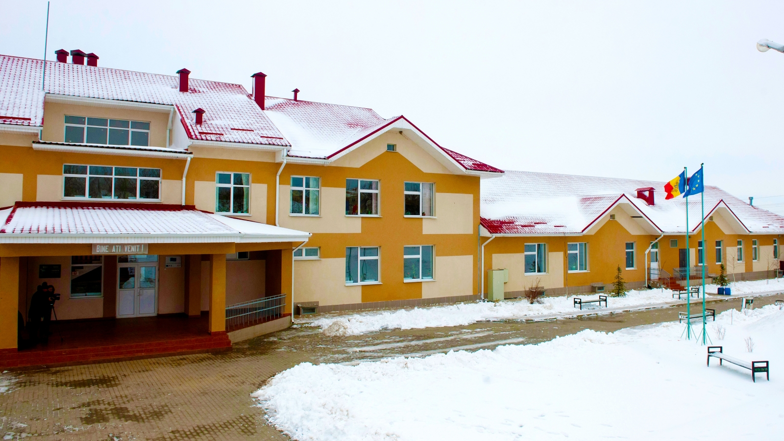 Green school in Cotul Morii village
