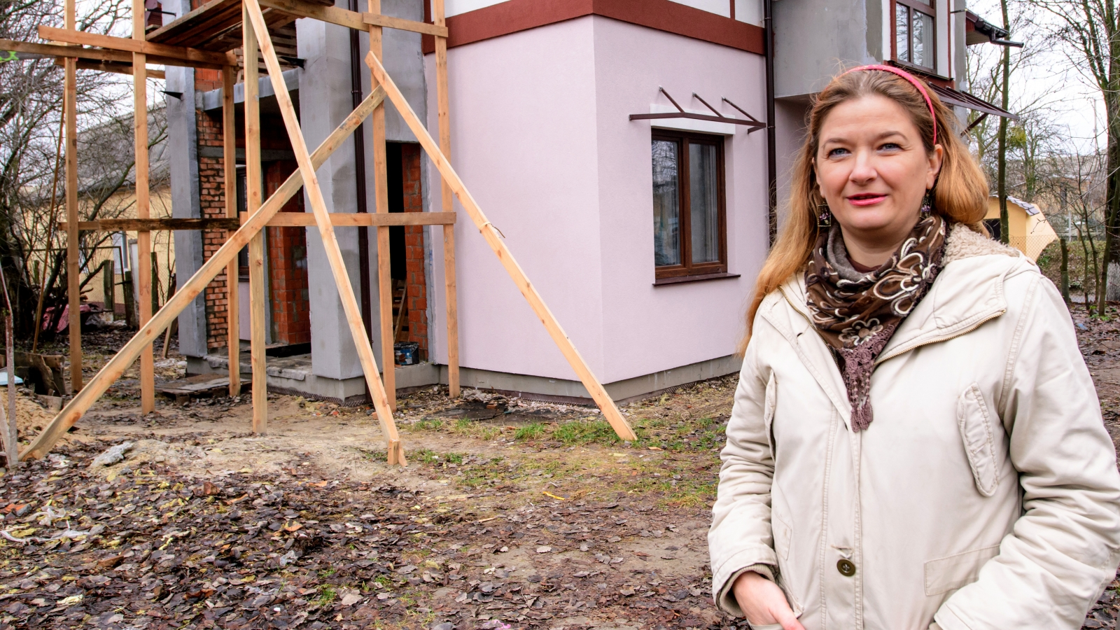 Olena Pylska, a participant of the IQ energy programme, opted for an energy-efficient house.