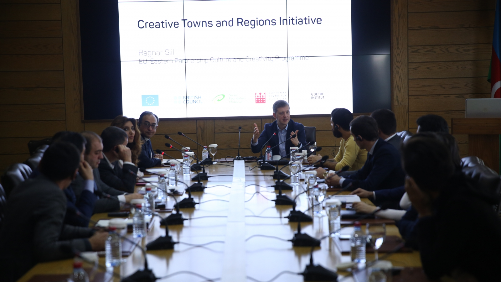 A final seminar on the Creative Cities and Regions project, Shamkir, October, 2017
