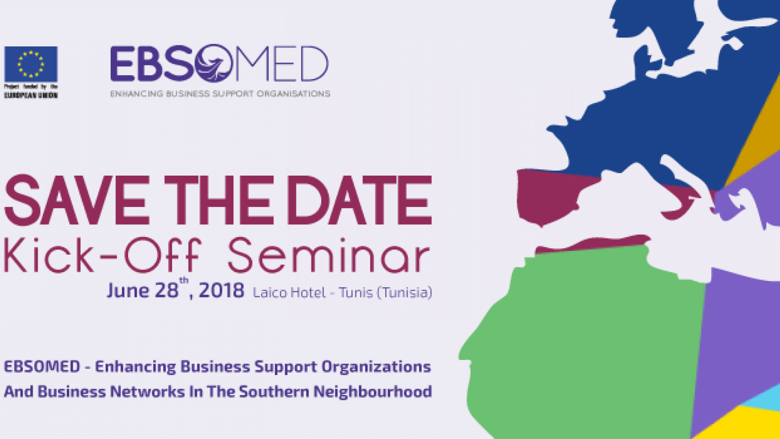 EBSOMED project to kick off in June in Tunis