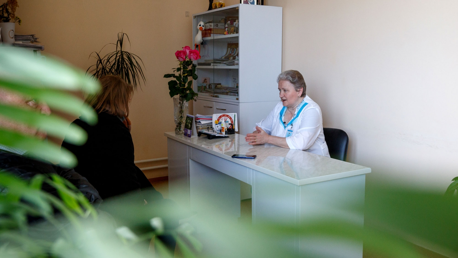 Tamara Mamuha, head of the maternity department, Navahrudak, Belarus