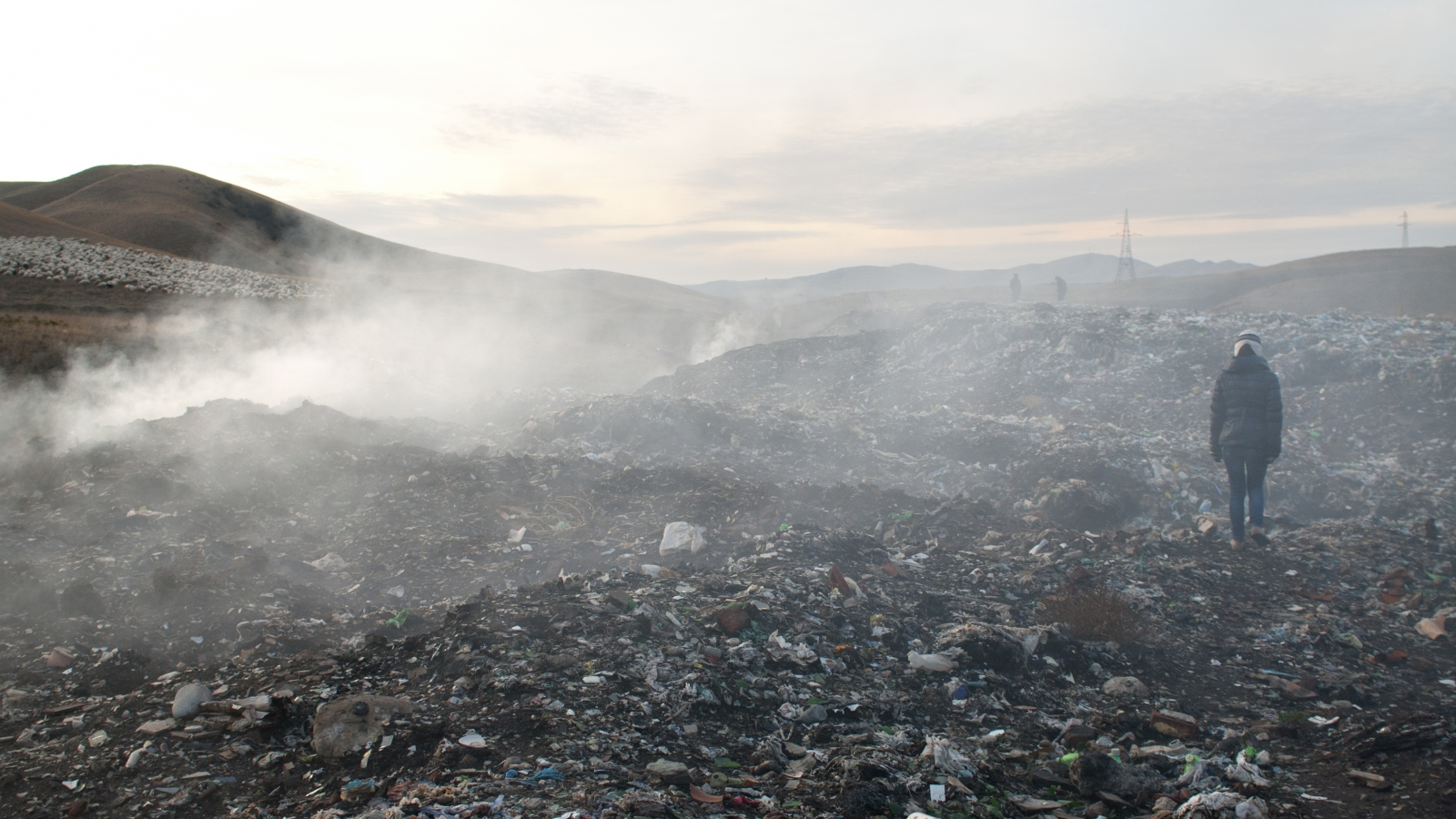 Aghluja's landfill near Rustavi city, Georgia (archive photo: 2012)