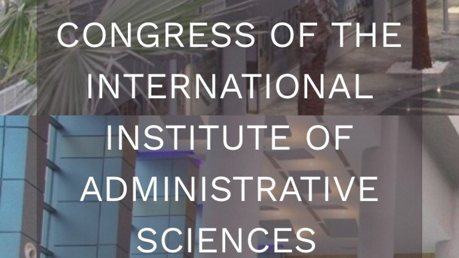Congress of the International Institute of Administrative Sciences in Tunisia