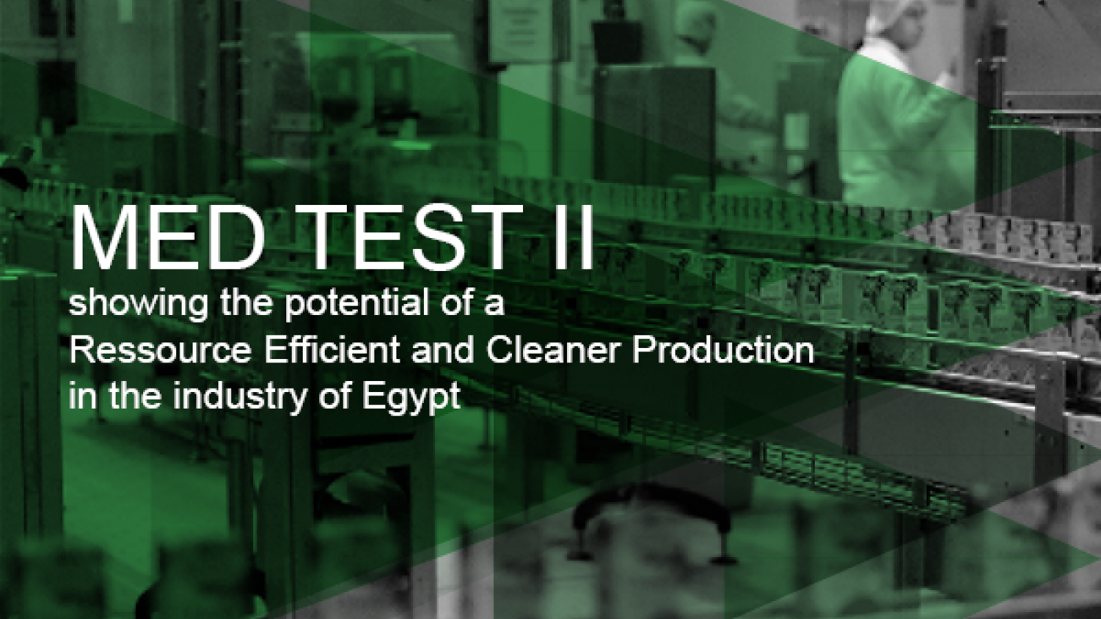 The UNIDO MED TEST II project