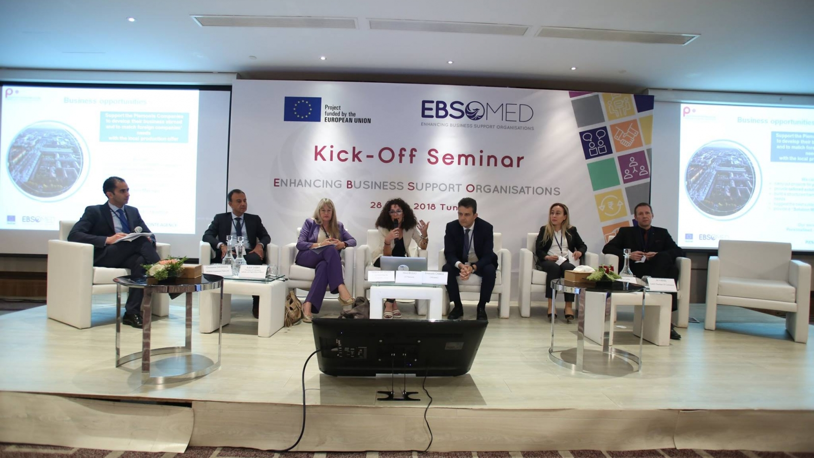 EBSOMED kick-off seminar in Tunis