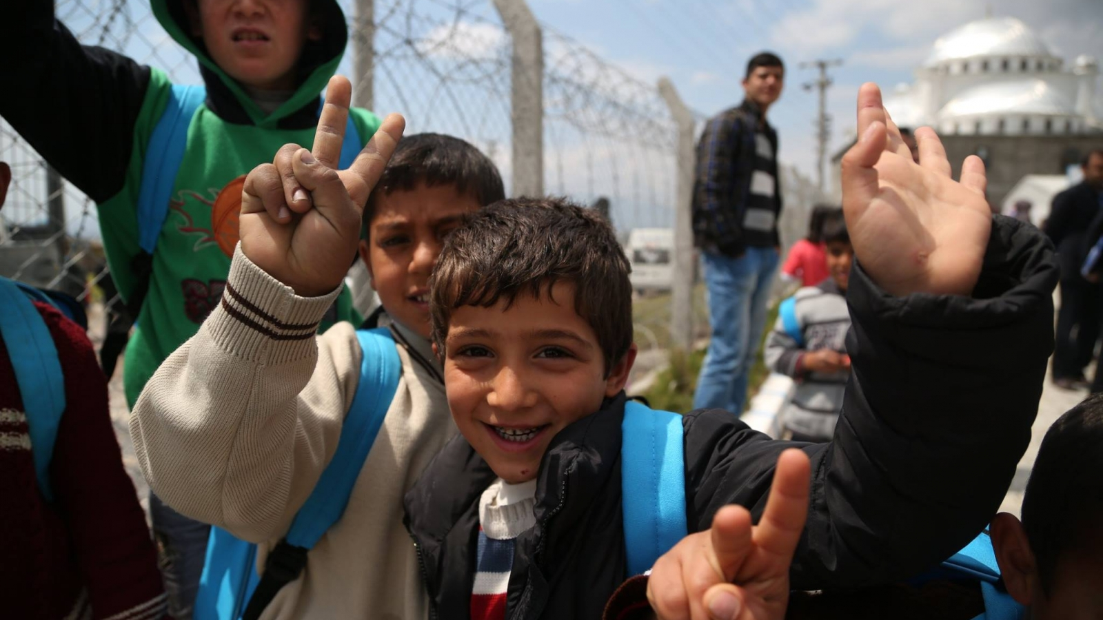 children refugees