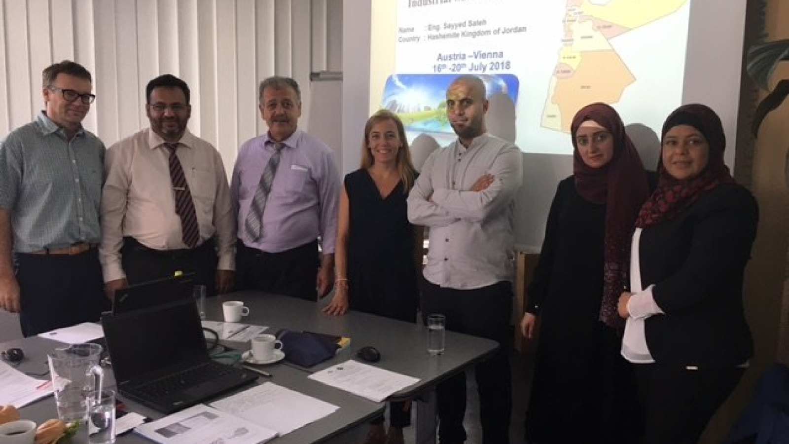 EU-Jordan : Exchange of experience in the field of monitoring, production and collection of data on industrial waste water