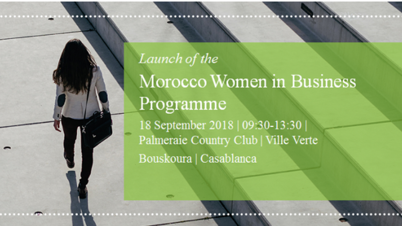 Women in Business programme Morocco