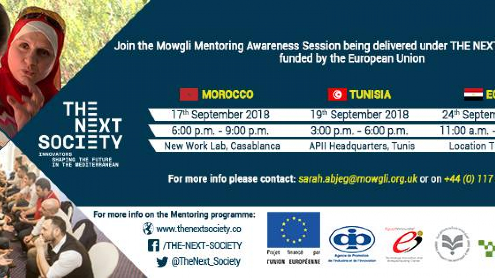 Mowgli Awareness sessions agenda - September 2018