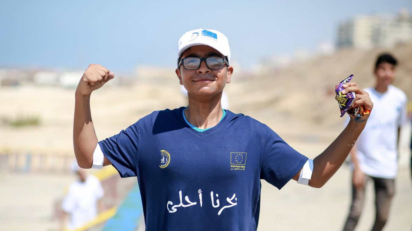 #EUBeachCleanup Palestine