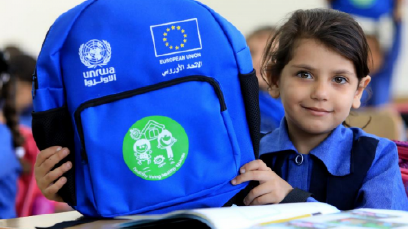 "The EU and UNRWA ""Back to School"" campaign"