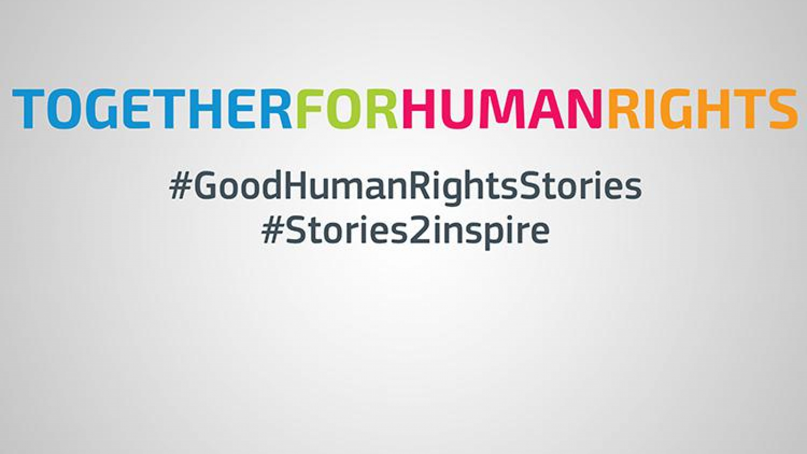 Good Human Rights Stories coalition launched