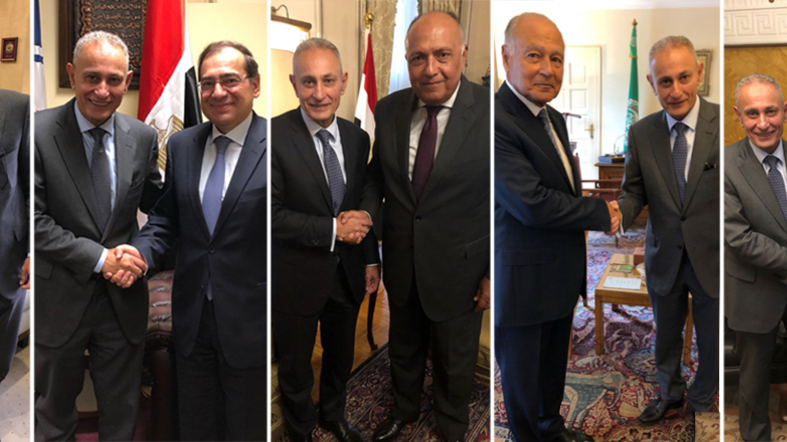 Reaching out to UfM Member States: Secretary General Nasser Kamel holds his first official visit to Egypt