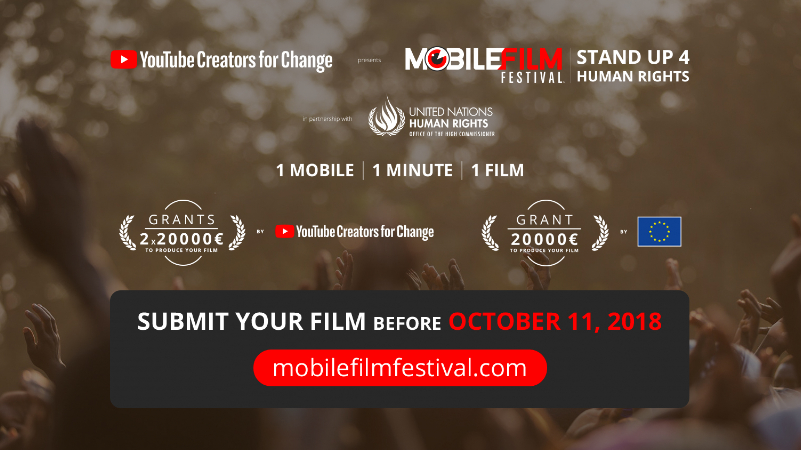 The European Union partner of the Mobile Film Festival