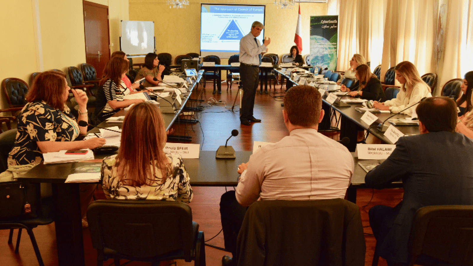 CyberSouth basic judicial training on cybercrime and electronic evidence in Lebanon