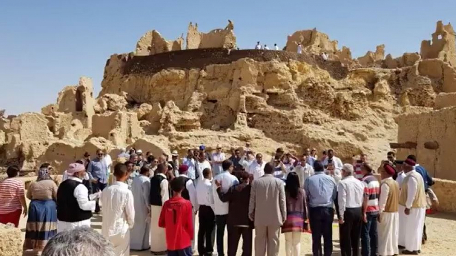 EU funds Revival of the Shali Fortress Project in Siwa