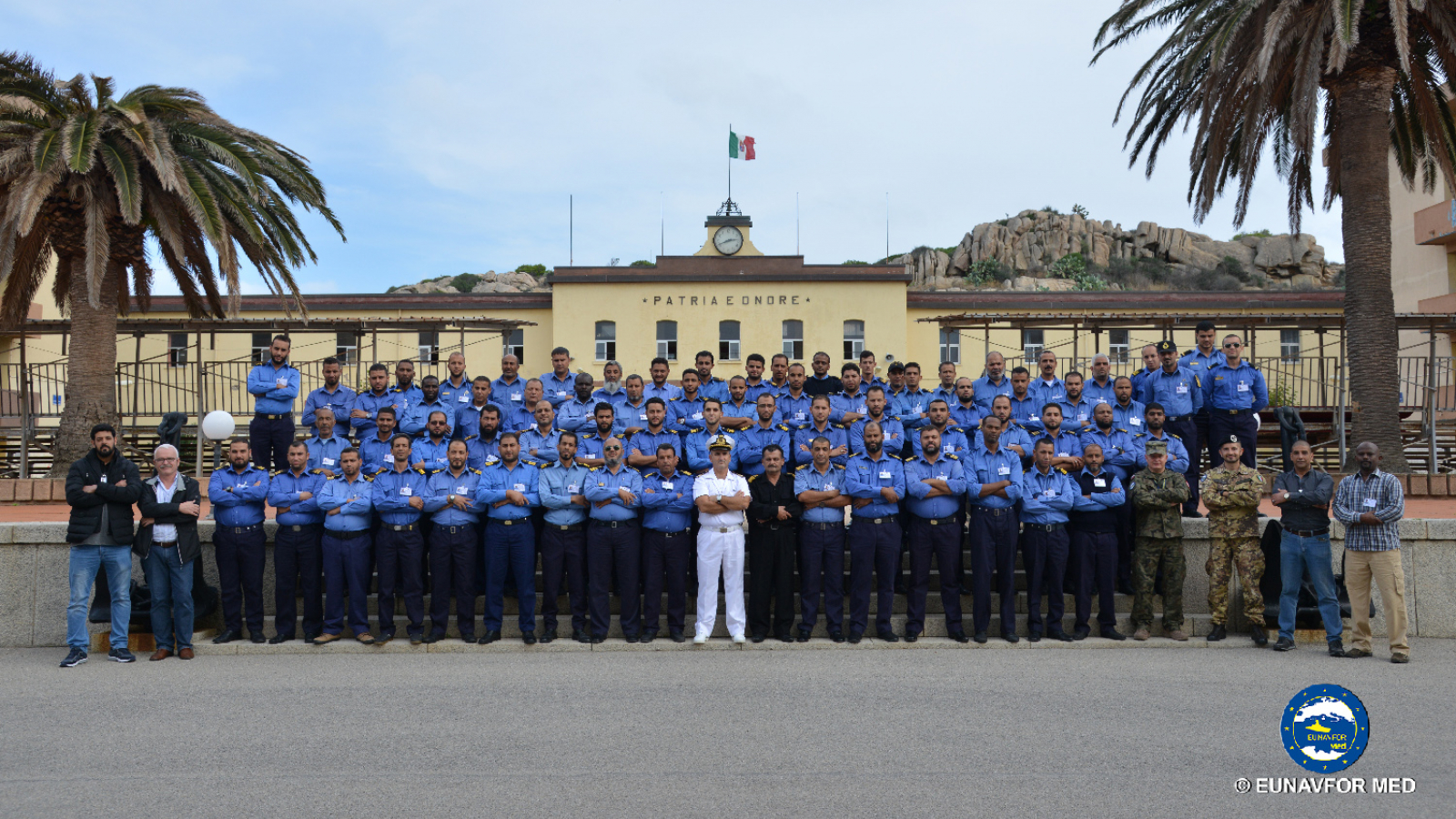 Operation Sophia: new training module in Italy