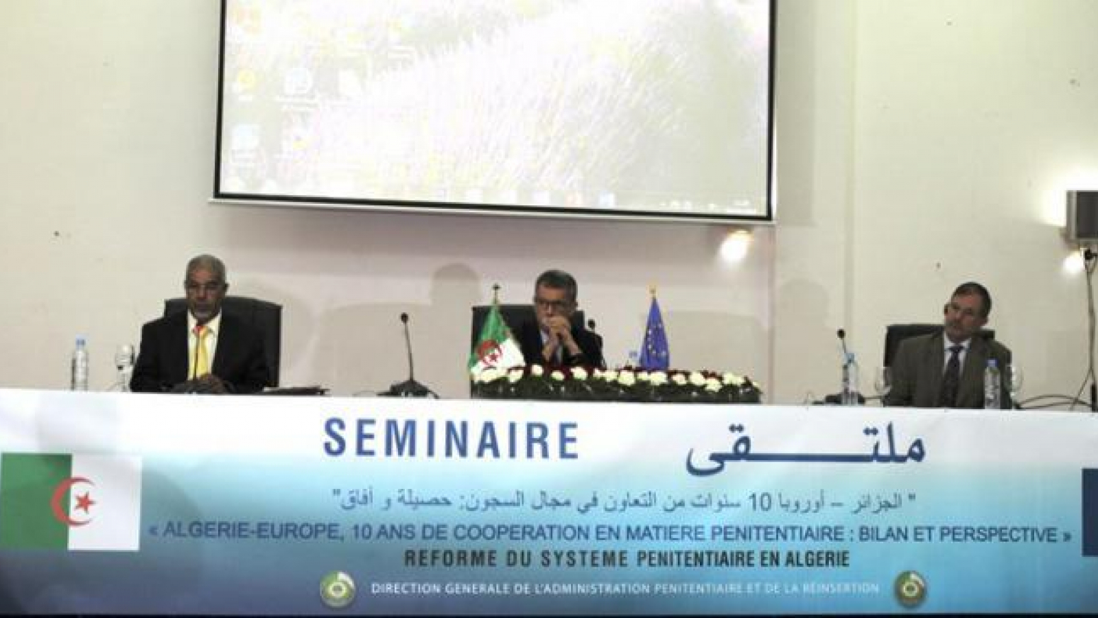 The EU hails the efforts of Algeria in terms of prison reform