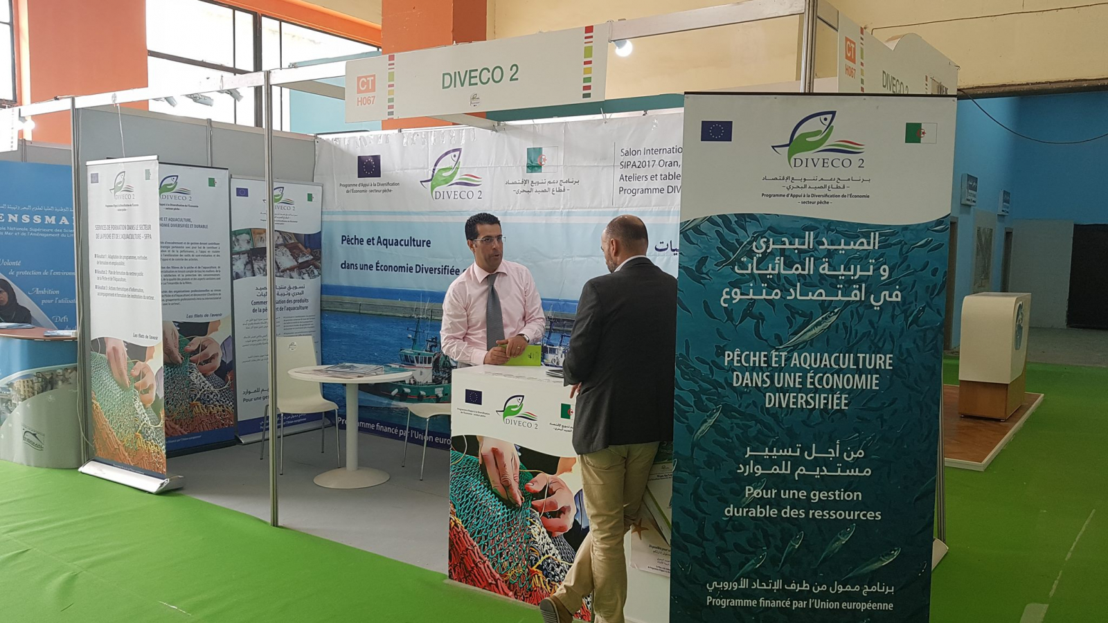 The EU supports the sector of fisheries in Algeria