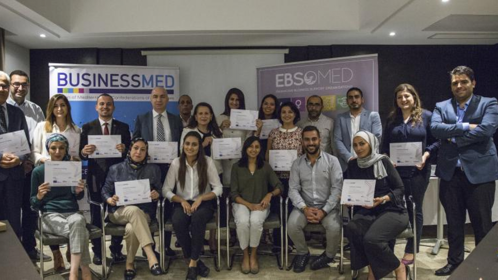EU-funded EBSOMED provided training on project development and management to Mediterranean Business Support Organisations