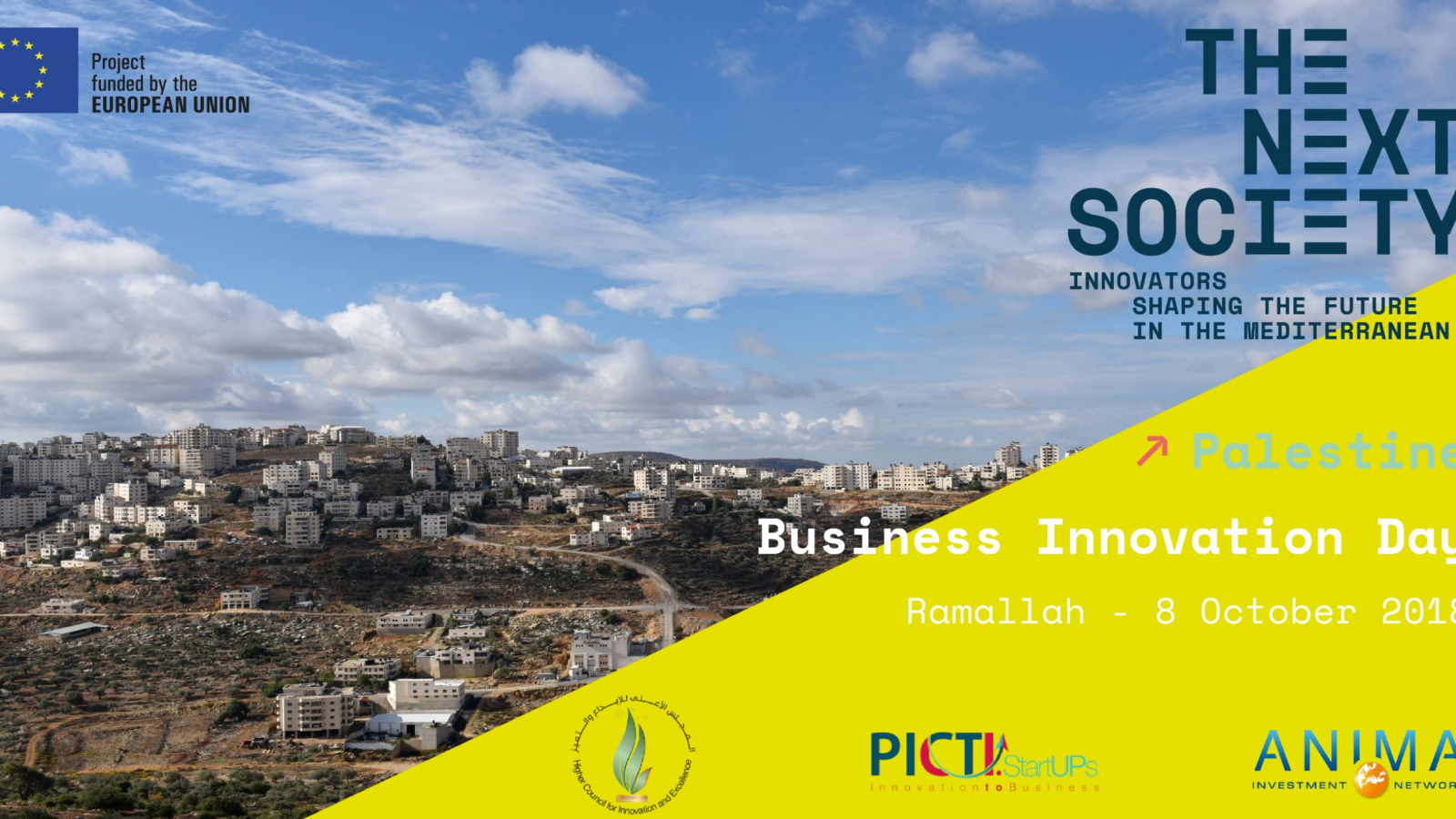 THE NEXT SOCIETY organises the Business Innovation Day in Palestine