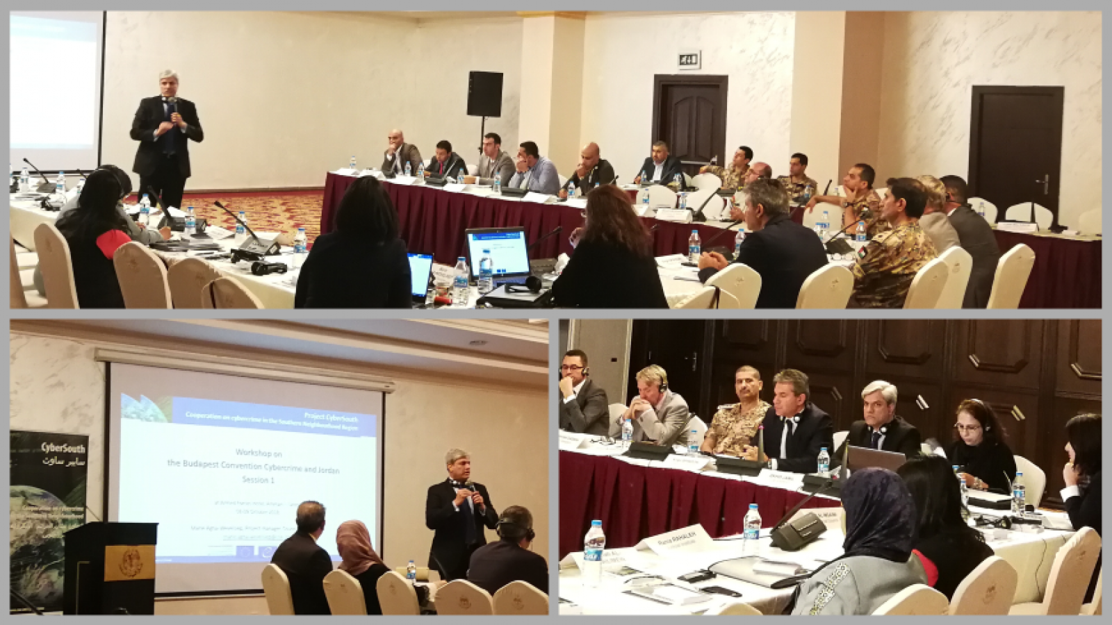 CyberSouth: Workshop on the Budapest Convention on Cybercrime in Jordan