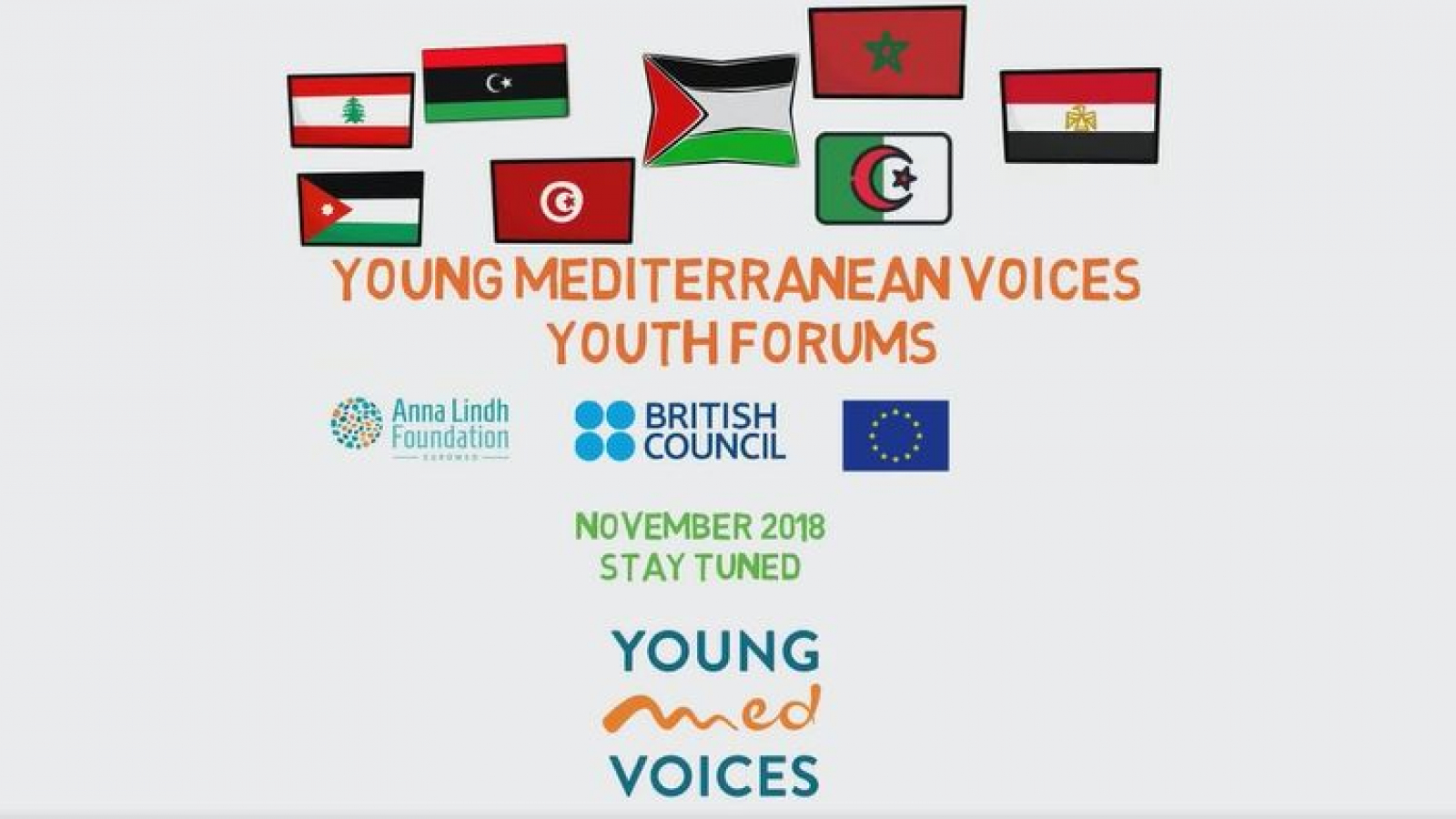 The Young Mediterranean Voices Youth Forums kicked off