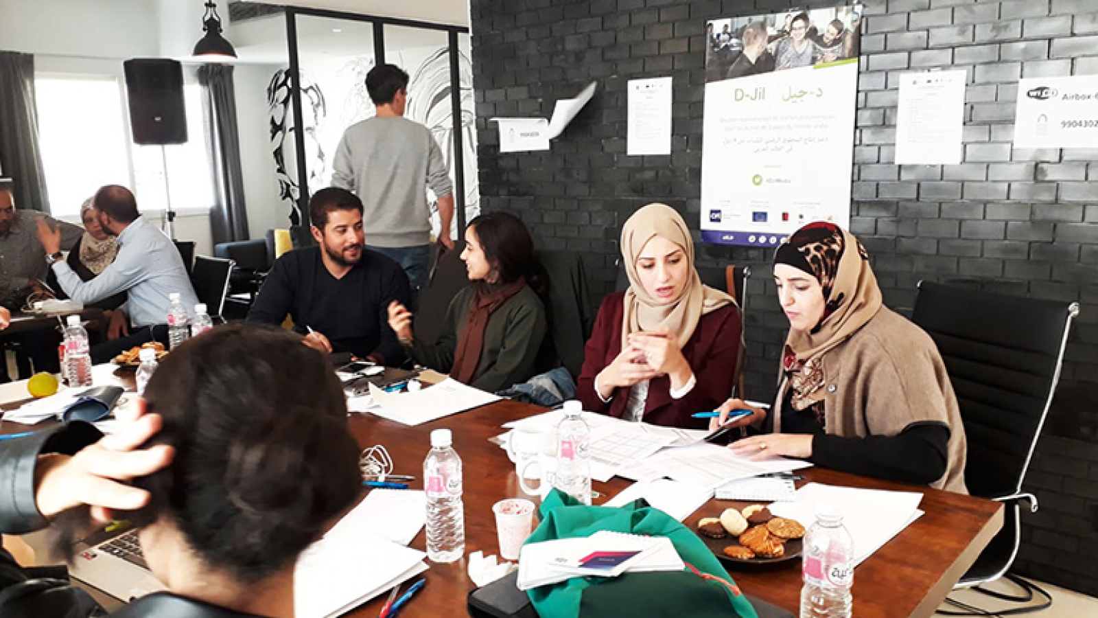 First incubator session for EU-funded D-Jil winners