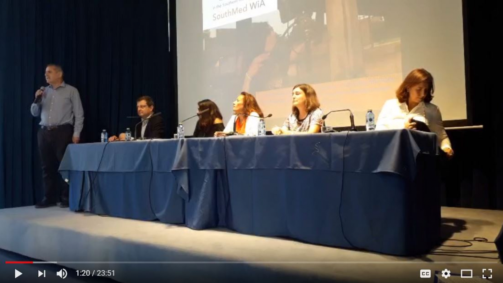 """Challenging Gender inequality in the Audiovisual Sector in the Mediterranean"""