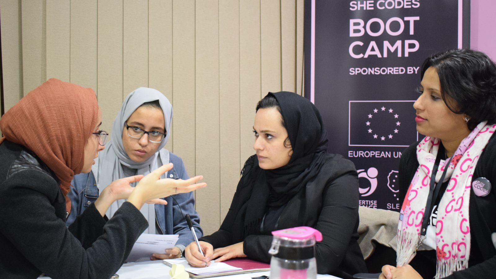 "The ""She Codes"" bootcamp in Benghazi"