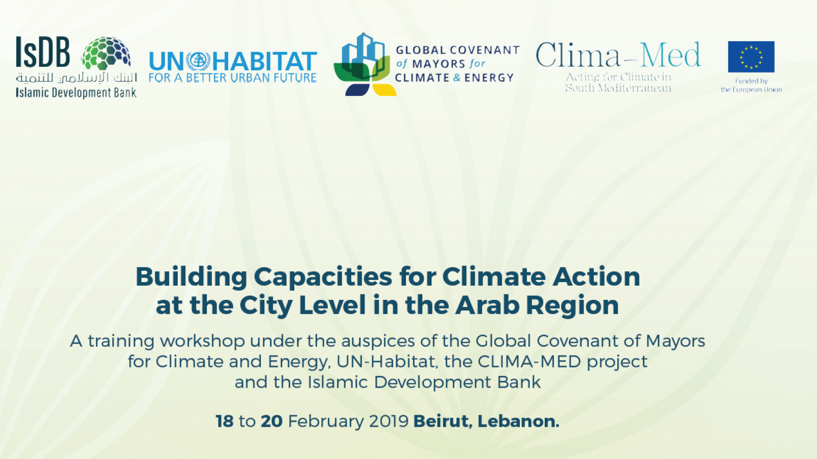 EU-funded Clima-Med project organises capacity-building workshop