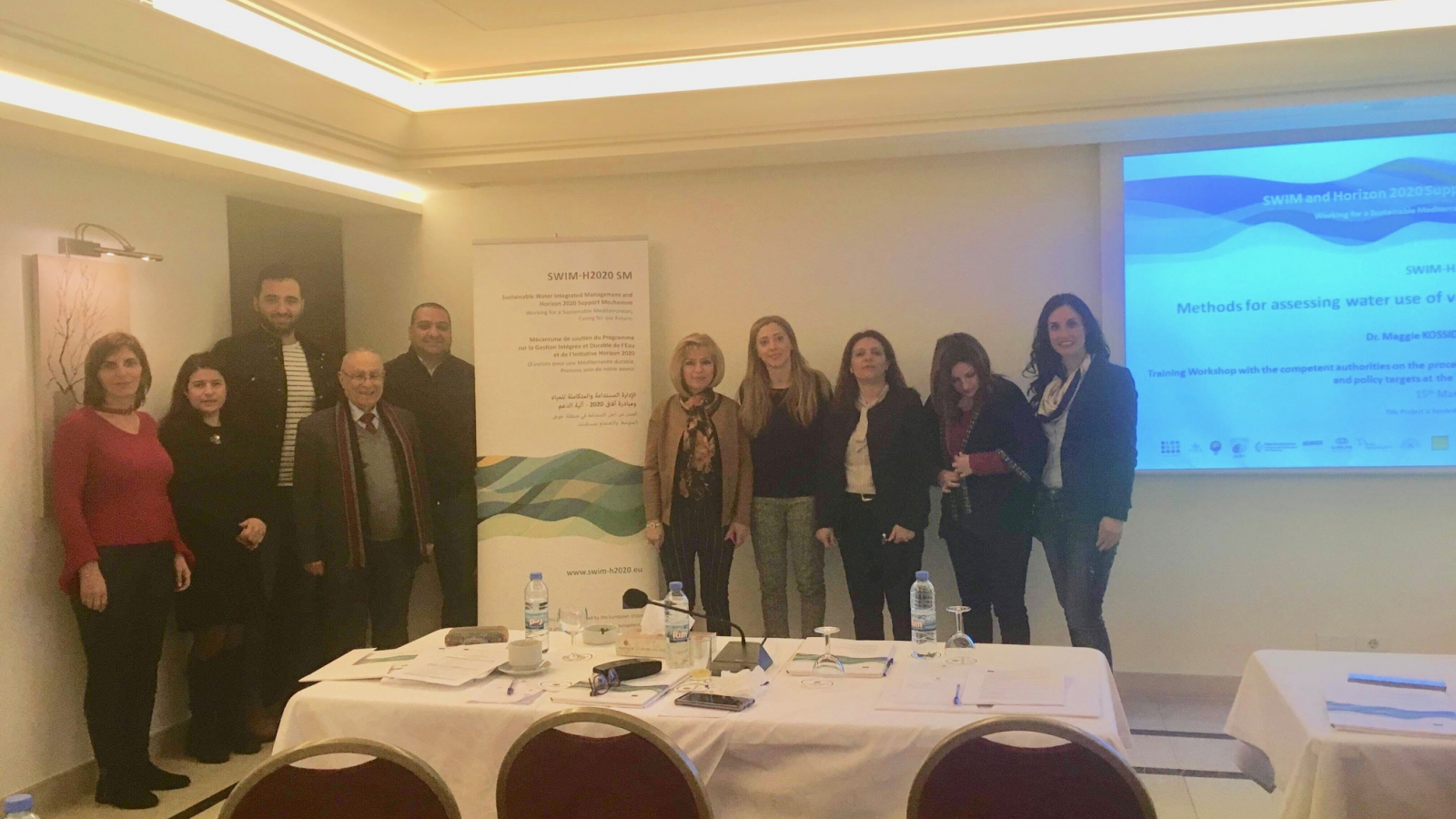 Lebanon: EU Workshop on designing decentralised water