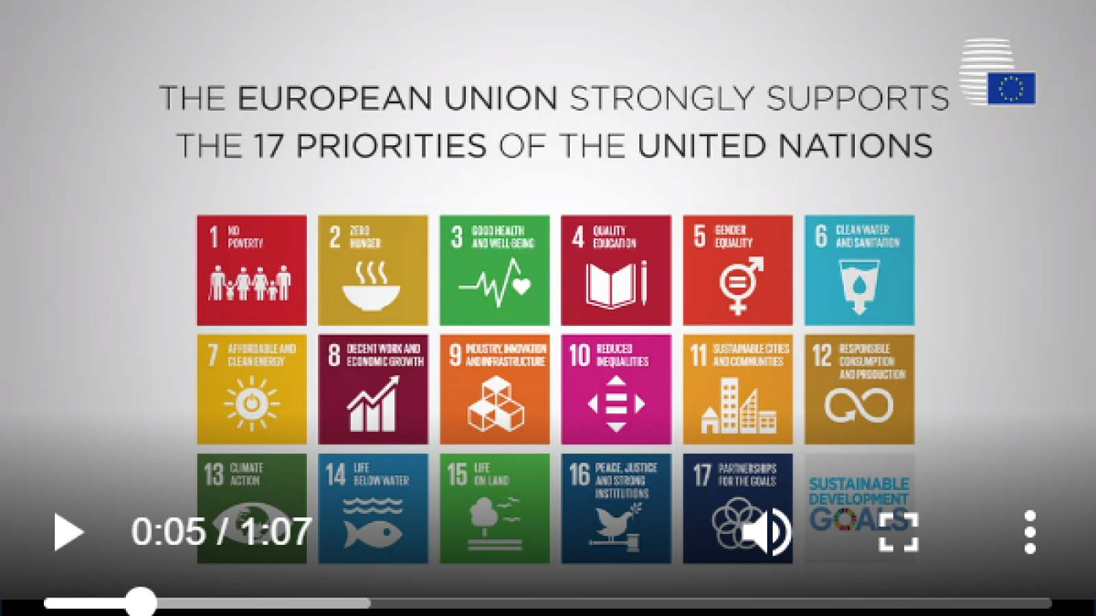 Towards a Sustainable Europe by 2030