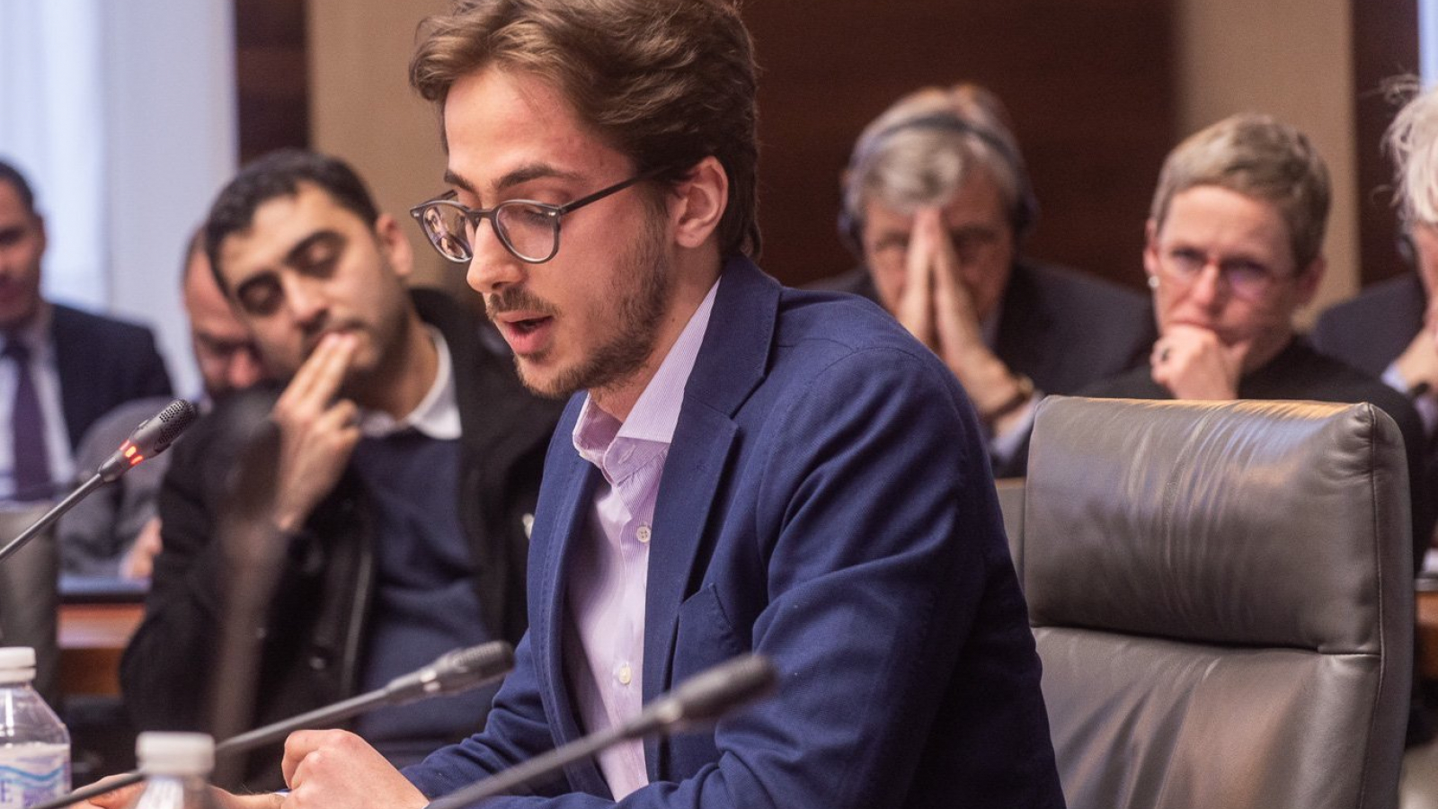"Omar Shanti, winner of the the EU-funded (MED)RESET Project's ""Young Writer Prize"""