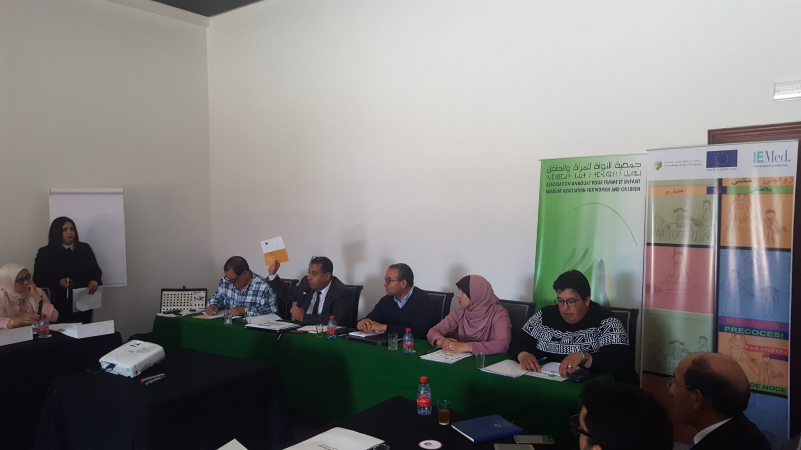 EU-funded project spurs policy dialogue on child marriage in Morocco