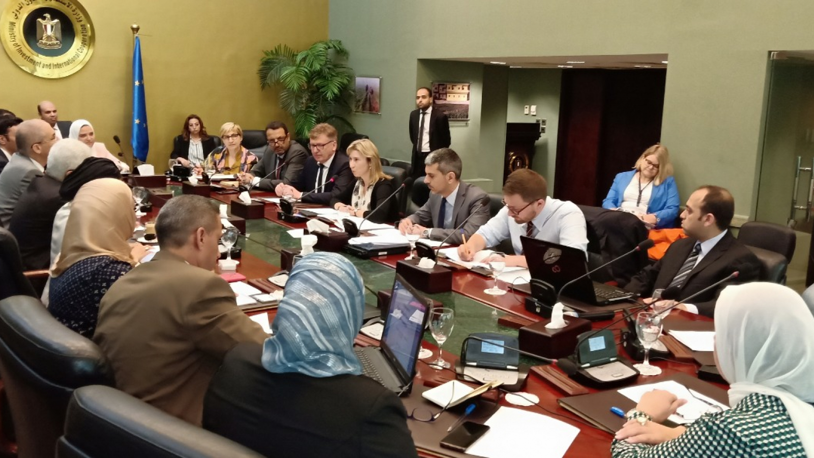 EU Egypt 7th meeting of the Subcommittee on Transport, Energy and Environment
