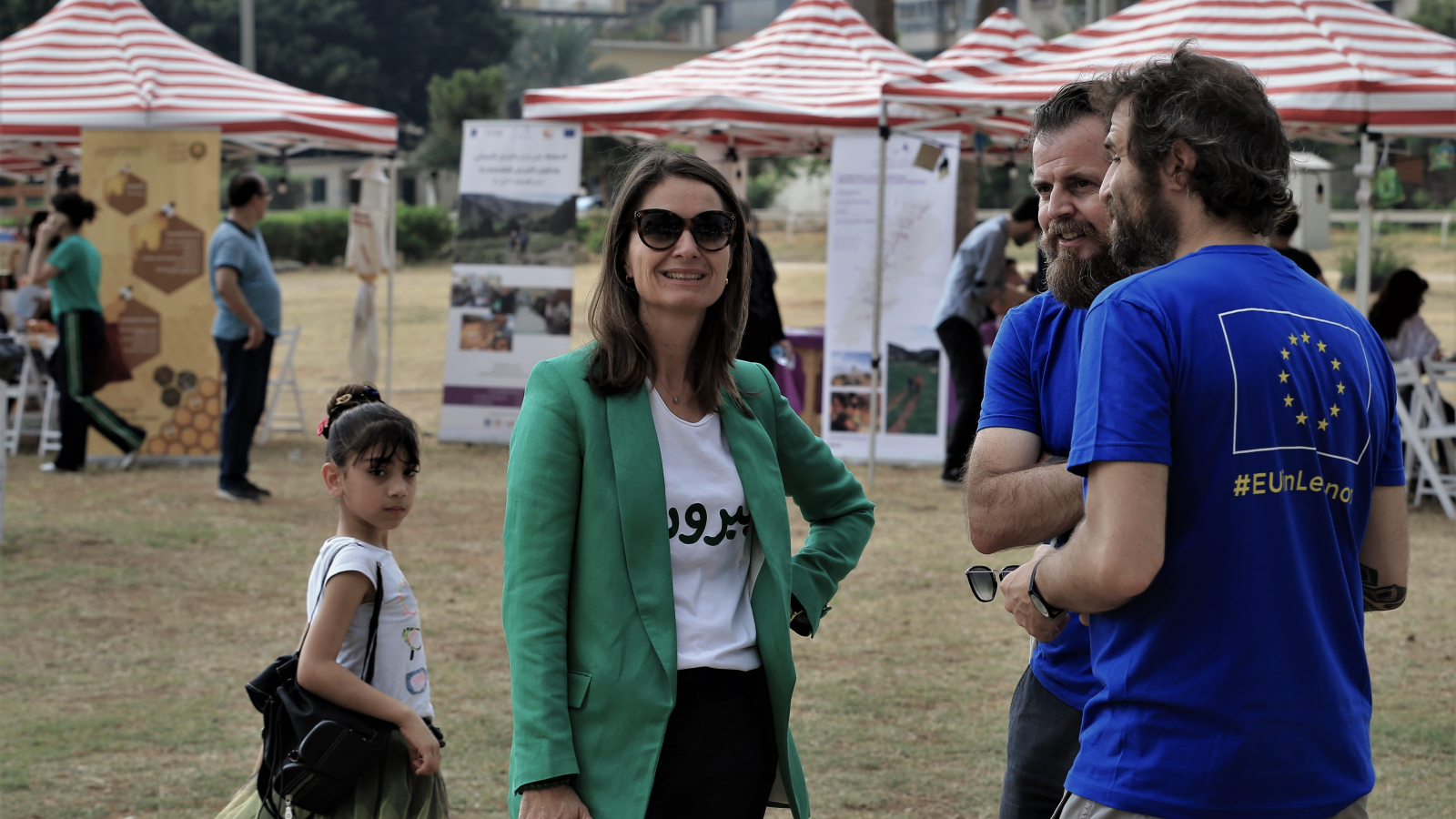 Christina Lassen, ambassador and head of the EU delegation in Lebanon